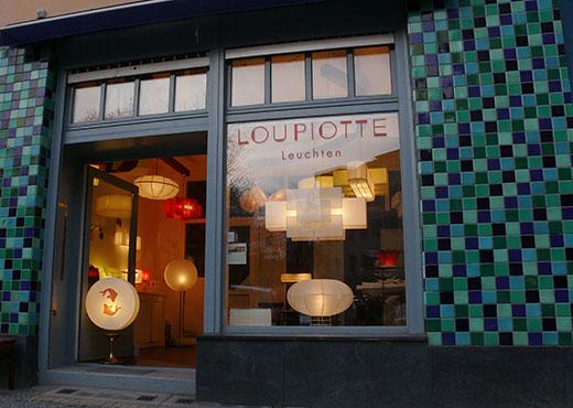 Das Loupiotte-Atelier in der Dresdener Straße 20