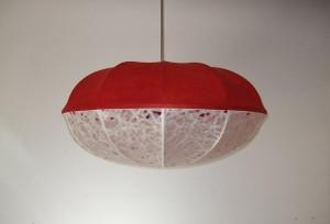 Loupiotte Leuchten : Seeigel Rot-Weiß